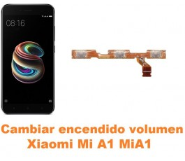 Cambiar encendido y volumen Xiaomi Mi A1 MiA1