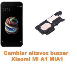 Cambiar altavoz buzzer Xiaomi Mi A1 MiA1