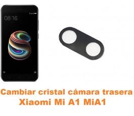 Cambiar cristal cámara trasera Xiaomi Mi A1 MiA1