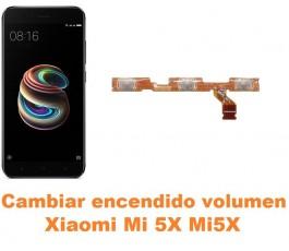 Cambiar encendido y volumen Xiaomi Mi 5X Mi5X