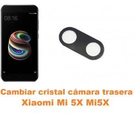 Cambiar cristal cámara trasera Xiaomi Mi 5X Mi5X