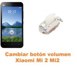 Cambiar botón volumen Xiaomi Mi 2 Mi2
