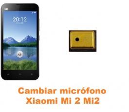 Cambiar micrófono Xiaomi Mi 2 Mi2