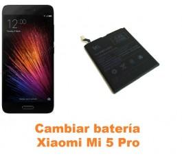 Cambiar batería Xiaomi Mi 5 Mi5 Pro