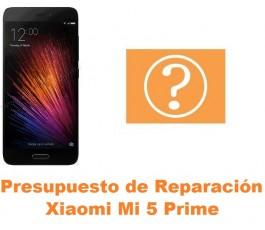 Presupuesto de reparación Xiaomi Mi 5 Mi5 Prime