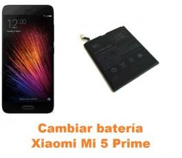 Cambiar batería Xiaomi Mi 5 Mi5 Prime