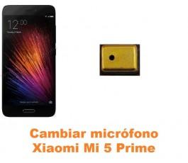 Cambiar micrófono Xiaomi Mi 5 Mi5 Prime