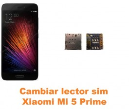 Cambiar lector sim Xiaomi Mi 5 Mi5 Prime