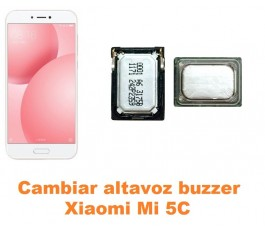 Cambiar altavoz buzzer Xiaomi Mi 5C Mi5C