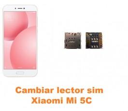 Cambiar lector sim Xiaomi Mi 5C Mi5C
