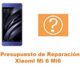 Presupuesto de reparación Xiaomi Mi 6 Mi6