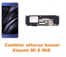 Cambiar altavoz buzzer Xiaomi Mi 6 Mi6