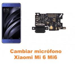 Cambiar micrófono Xiaomi Mi 6 Mi6