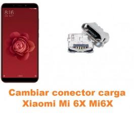 Cambiar conector carga Xiaomi Mi 6X Mi6X