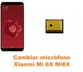 Cambiar micrófono Xiaomi Mi 6X Mi6X