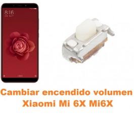 Cambiar encendido y volumen Xiaomi Mi 6X Mi6X
