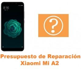 Presupuesto de reparación Xiaomi Mi A2 MiA2