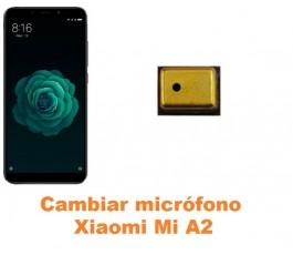 Cambiar micrófono Xiaomi Mi A2 MiA2