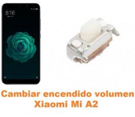 Cambiar encendido y volumen Xiaomi Mi A2 MiA2