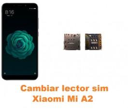 Cambiar lector sim Xiaomi Mi A2 MiA2