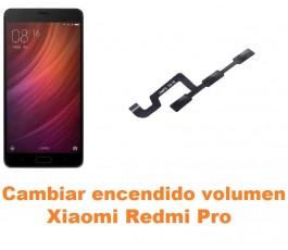 Cambiar encendido y volumen Xiaomi Redmi Pro