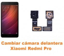 Cambiar cámara delantera Xiaomi Redmi Pro