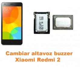 Cambiar altavoz buzzer Xiaomi Redmi 2