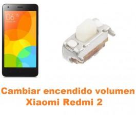 Cambiar encendido y volumen Xiaomi Redmi 2