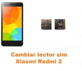 Cambiar lector sim Xiaomi Redmi 2