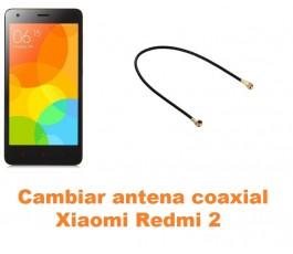 Cambiar antena coaxial Xiaomi Redmi 2