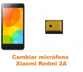 Cambiar micrófono Xiaomi Redmi 2A