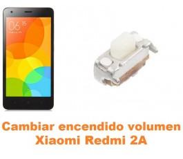 Cambiar encendido y volumen Xiaomi Redmi 2A