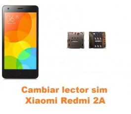 Cambiar lector sim Xiaomi Redmi 2A