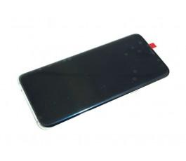 Pantalla completa táctil lcd y marco para Samsung Galaxy S8 Plus G955 plata original reparada