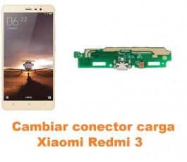 Cambiar conector carga Xiaomi Redmi 3