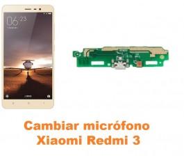 Cambiar micrófono Xiaomi Redmi 3