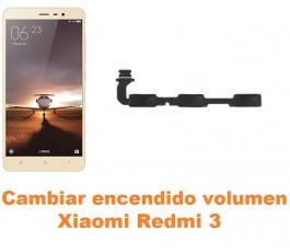Cambiar encendido y volumen Xiaomi Redmi 3