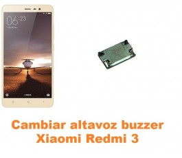 Cambiar altavoz buzzer Xiaomi Redmi 3