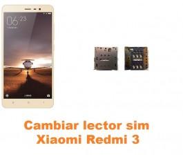 Cambiar lector sim Xiaomi Redmi 3