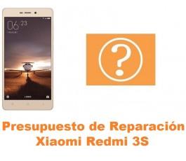 Presupuesto de reparación Xiaomi Redmi 3S