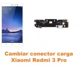 Cambiar conector carga Xiaomi Redmi 3 Pro
