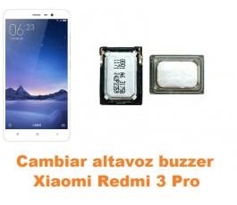 Cambiar altavoz buzzer Xiaomi Redmi 3 Pro