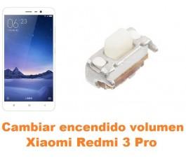 Cambiar encendido y volumen Xiaomi Redmi 3 Pro