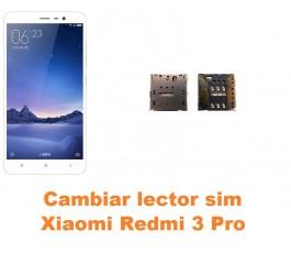 Cambiar lector sim Xiaomi Redmi 3 Pro