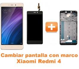 Cambiar pantalla completa con marco Xiaomi Redmi 4