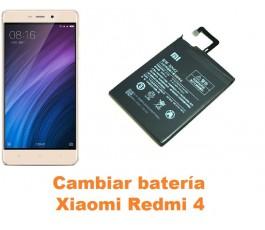 Cambiar batería Xiaomi Redmi 4