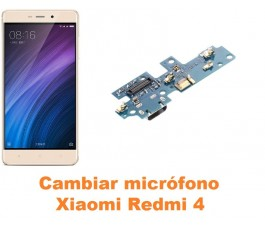Cambiar micrófono Xiaomi Redmi 4