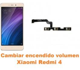 Cambiar encendido y volumen Xiaomi Redmi 4