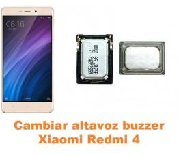 Cambiar altavoz buzzer Xiaomi Redmi 4