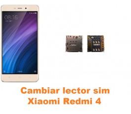 Cambiar lector sim Xiaomi Redmi 4